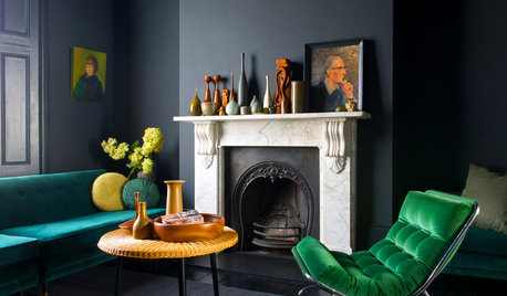 Light My Fire: 23 Ideas for Decorating Your Fireplace Wall