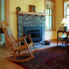 Traditional Living Room by David Whitney