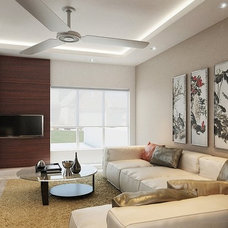 Asian Living Room by Puristo Design
