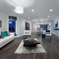 Modern Living Room by Projekt Homes Ltd