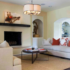 Traditional Living Room by Cobblestone & Vine