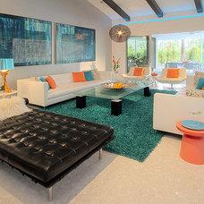 Midcentury Living Room psPalms.com