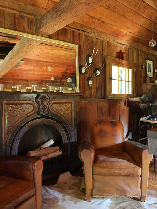 Rustic Man Cave Houzz