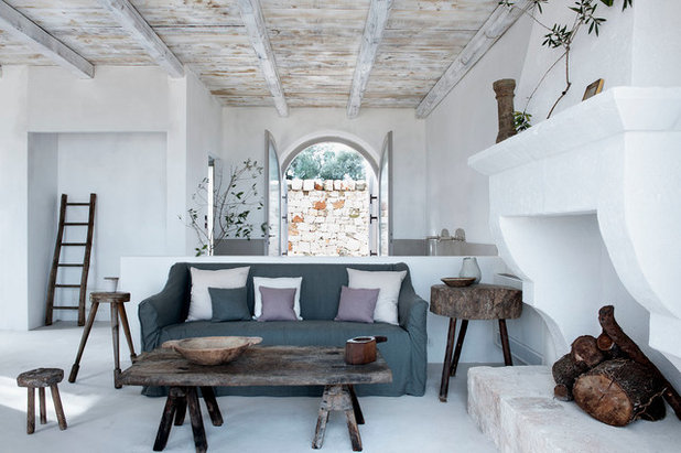 Farmhouse Living Room Puglia Farmhouse