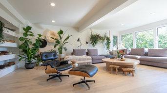 Pump Hill Living Room Renovation