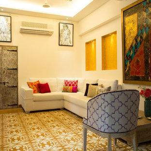 Stilmix Wohnzimmer in Mumbai