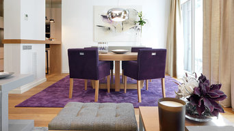 Purple Accent Living Room