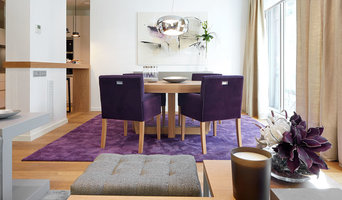 Purple Accent Living Room