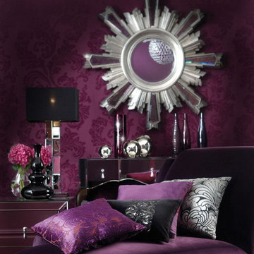 purple in the room