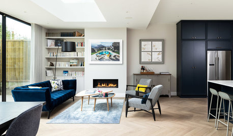 UK Houzz Tour: A Dated Victorian House Revamped for Modern Living