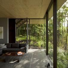 Contemporary Living Room by Quantum Windows & Doors, Inc.