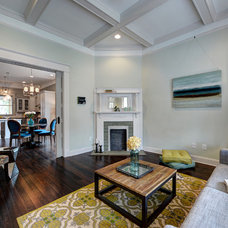 Traditional Living Room by Carl Mattison Design