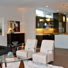 Living Room by Seattle Staged to Sell and Design LLC