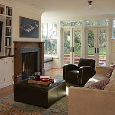 traditional living room by Aleck Wilson Architects