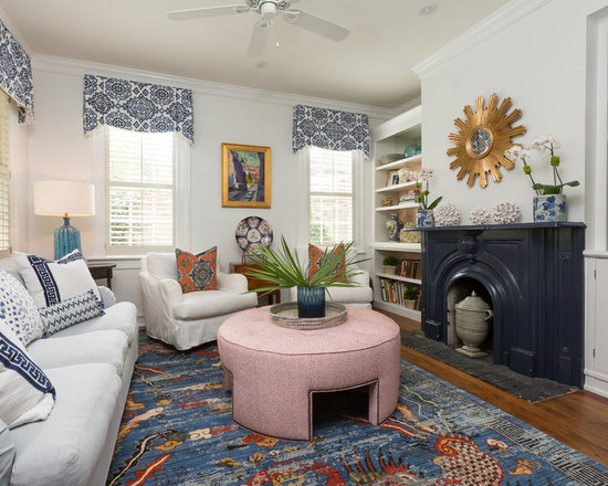 Transitional Living Room Design Ideas Remodels  Photos Houzz - Transitional living room
