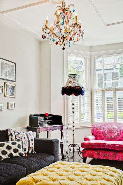 Contemporary Living Room by Honey Bee Interiors