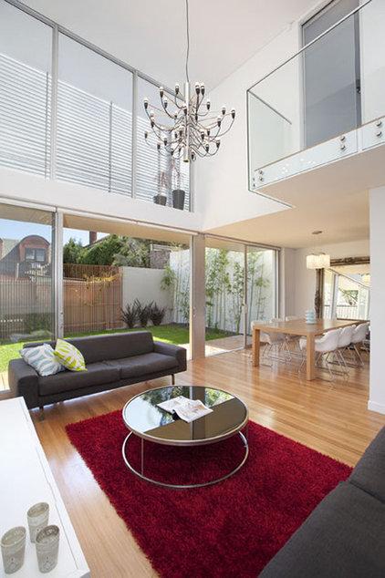 Contemporary Living Room by Aleksandar Design Group