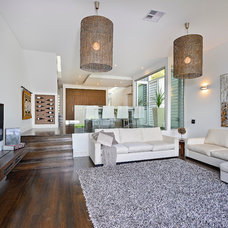 Contemporary Living Room by Capital Building