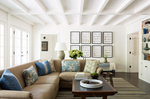 Traditional Living Room by Mark J Williams Design