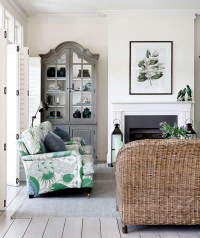 Coastal Living Room by The Classic Outfitter