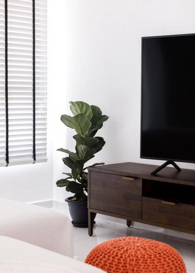 Scandinavian Living Room by Team Interior Design