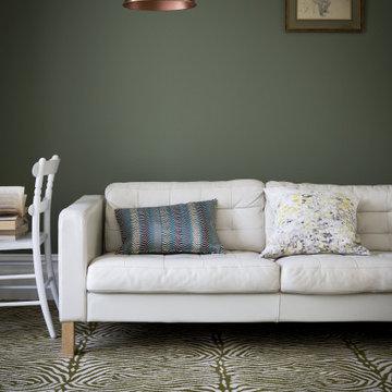 Quirky Living Room Carpet Flooring