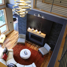 Modern Living Room by The Design Element