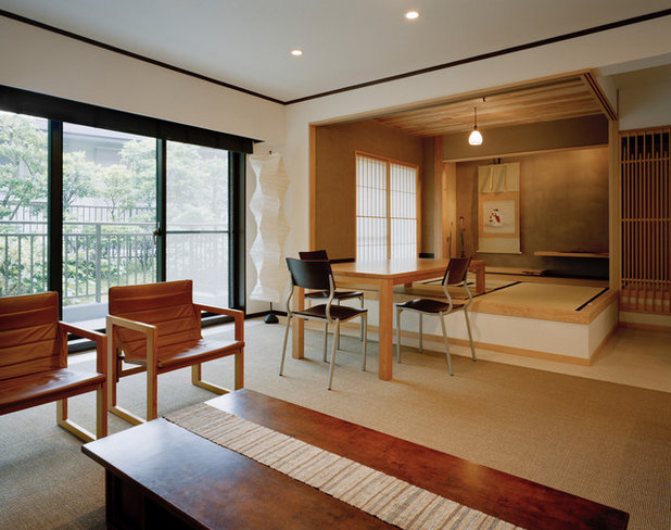 Japanisch Wohnbereich by アトリエ137 | atelier137 Architectural Design Office