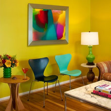 Eclectic Living Room by Dsquared Creative Design Solutions