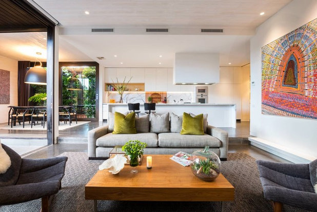 Contemporary Living Room by Rachel Lewis Photography