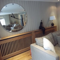 Contemporary Living Room by Spaceworks Bespoke Joinery Ltd