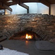 Modern Living Room by DWYER DESIGN