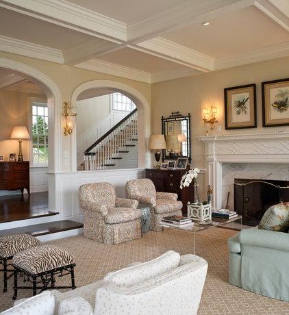 Traditional Living Room by E. B. Mahoney Builders, Inc.