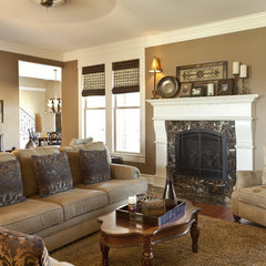 traditional living room by Classically Yours Interiors (CYInteriors)