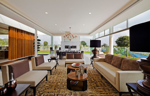 Contemporary Living Room by Shamanth Patil Photography