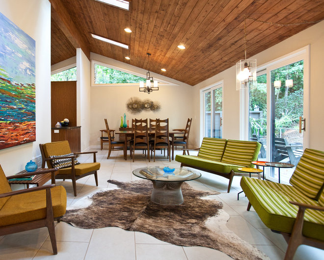 Midcentury Living Room by Cablik Enterprises