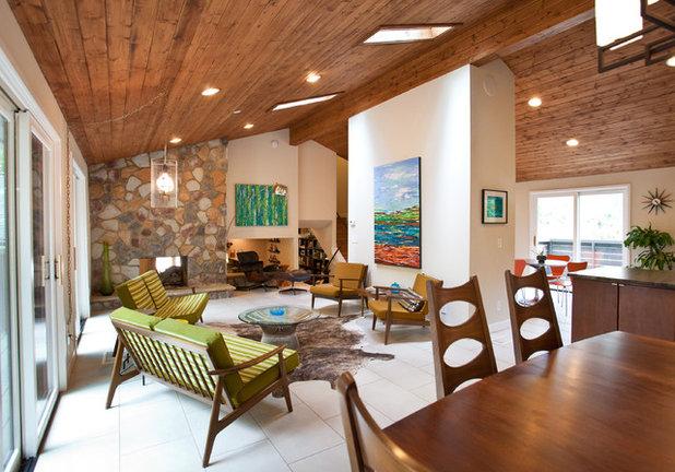 Midcentury Living Room by Cablik Enterprises