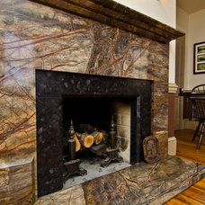 Traditional Living Room by Granite Grannies