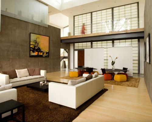 Shoji screen wall ideas pictures remodel and decor for Habillage de fenetre contemporain