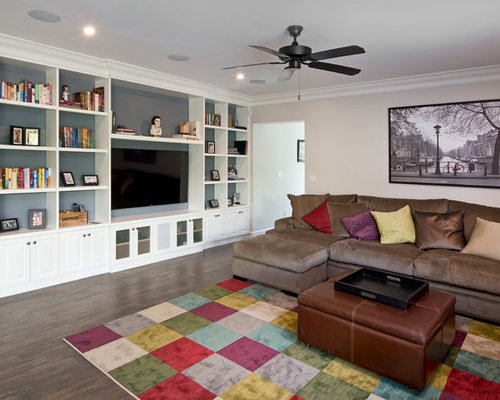 Built In Wall Units For Living Rooms built-in wall units | houzz