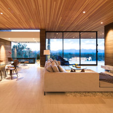 Contemporary Living Room by Kendle Design Collaborative