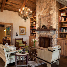 Traditional Living Room by Rachel Mast Design