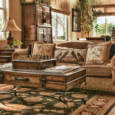 Eclectic Living Room by Suzanne O'Brien