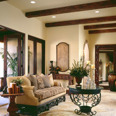 Mediterranean Living Room by Cassidy Interiors