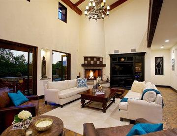 Rancho Santa Fe Luxury home staging