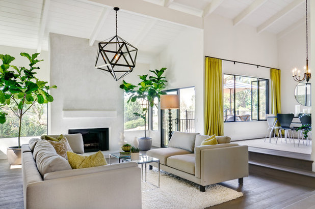 Contemporary Living Room by Shaw Coates