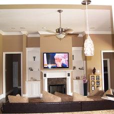 Living Room by V.I.P. Kitchens, LLC.