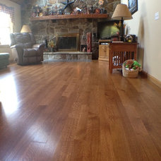 Traditional Living Room by Allegheny Mountain Hardwood Flooring