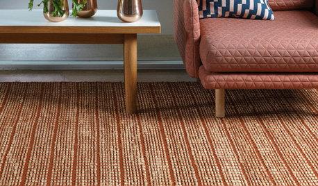 Zoom sur le tapis en fibres naturelles et ses variations