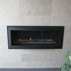 Traditional Living Room by Rettinger Fireplace Systems Inc